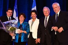 Guy Breton, Louise Arbour, Louise Roy, Jacques Girard, Pierre Marc Johnson