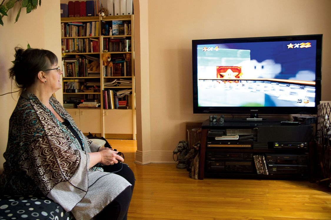 Some Video Games Are Good For Older Adults Brains