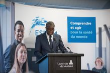 Université de Montréal was honoured today to welcome 2018 Nobel Peace Prize laureate Dr. Denis Mukwege to its School of Public Health (ESPUM).