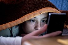 Using social media and watching TV might increase symptoms of depression in teenagers.