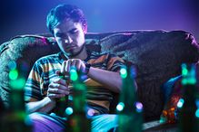 Researchers have found that adolescents increased their drinking in response to short-term elevations that exceeded their 'normal' level of depressive symptoms.