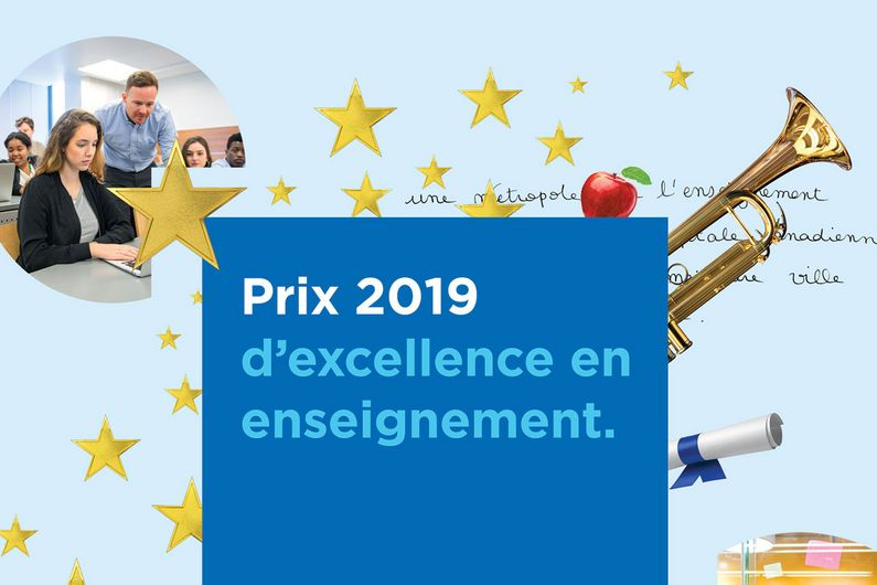 Julian Wittische - Prix d'excellence en enseignement 2019