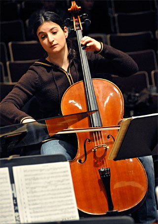 La violoncelliste Julie Hereish