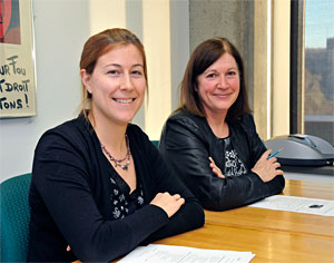 Mmes Ouellette et Tremblay