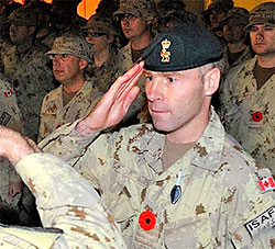 Le lieutenant-colonel Roch Pelletier (Photo: Sergent Douglas Desrochers)