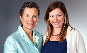 Louise Roy et Éliane Roy, chef du Service juridique et des affaires corporatives de R3D Conseil (Photo: Marcie Richstone)