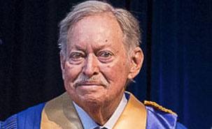 En octobre dernier, l'UdeM remettait un doctorat honoris causa à Jacques Parizeau.